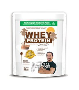 Jay Robb Whey Protein Chocolate -- 80 oz