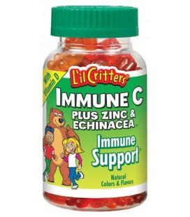 L'il Critters Gummy Immune C Plus Zinc & Echinacea, Dietary