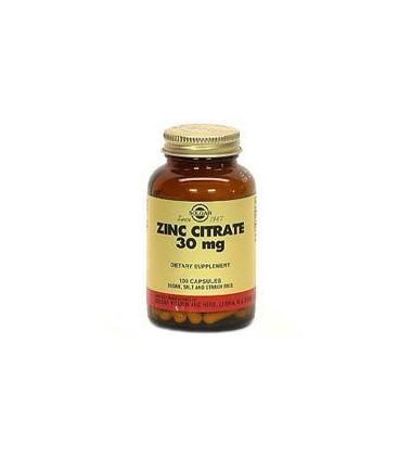 Zinc Citrate 30mg - 100 - Capsule
