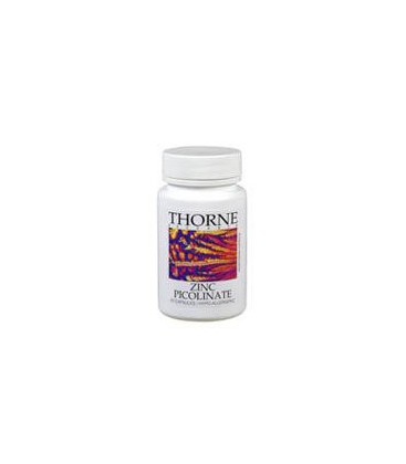 Thorne Research, Zinc Picolinate 15 mg 60 capsules
