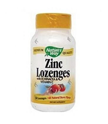 Nature's Way Zinc Lozenge, 60 Count (Pack of 4)