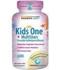Rainbow Light Kids One MultiStars, Fruit Punch, Chewable Tab