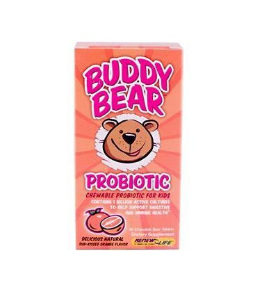 Renew Life Buddy Bear Probiotic, 60-Count