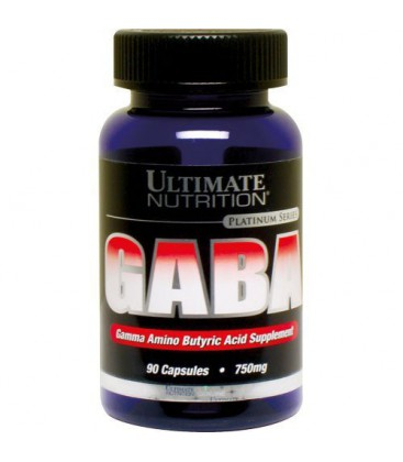 Ultimate Nutrition GABA Capsules, 90-Count Bottles (Pack of