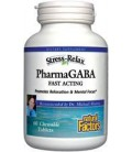 Natural Factors Stress-Relax Pharma Gaba Chewable Tablets, 6