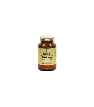 Solgar - Gaba, 500 mg, 100 veggie caps