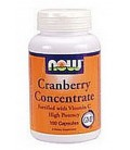 NOW Foods Cranberry Concentrate, 100 Capsules (Pack of 2)