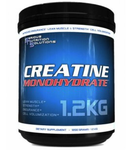 Serious Nutrition Solution Creatine Monohydrate Powder, 600 Grams