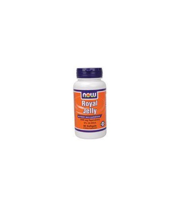 Now Foods Royal Jelly 1000mg, 60 Softgels