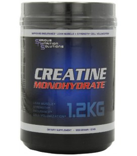 Serious Nutrition Solution Creatine Monohydrate Powder, 1200 Grams