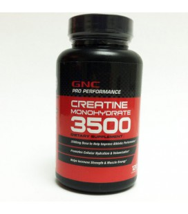 GNC Pro Performance Creatine Monohydrate, Capsules, 120 ea