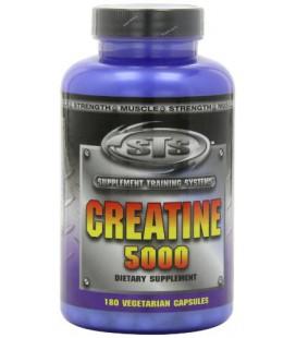 STS Creatine 5000, 180 Vegetarian Capsules
