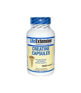 Creatine Capsules 120 VegiCaps