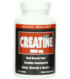 Natural Balance Creatine 1000, Capsules, 1000 Mg, 90 Count