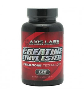 Axis Labs Creatine Ethyl Ester - 120 Capsules