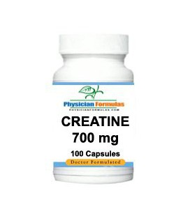 Creatine Monohydrate Supplement 700 Mg, 100 Capsules - Endorsed by Dr. Ray Sahelian, M.D., - Muscle Size Enhancement Pill