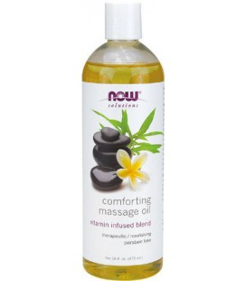 Now Foods Comforting Massage Oil, 16-Ounce