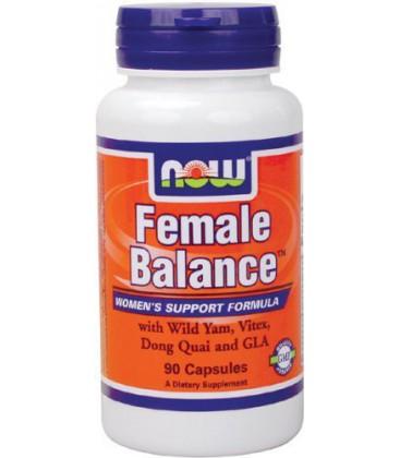 NOW Foods Female Balance(Tm), 90 Capsules