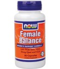 NOW Foods Female Balance(Tm), 90 Capsules