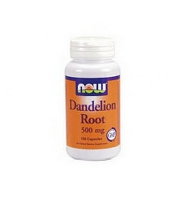 NOW Foods Dandelion Root, 100 Capsules / 500mg (Pack of 3)
