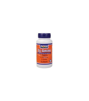 Now Foods Tri-Amino, Capsules, 60-Count