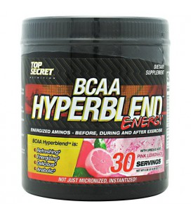BCAA Hyperblend Energy Pink Lemonade - 30 Servings - 0.37 lb (5.92 oz) 168 g