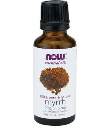 NOW Foods Myrrh Oil  20% Pure, 1 ounce
