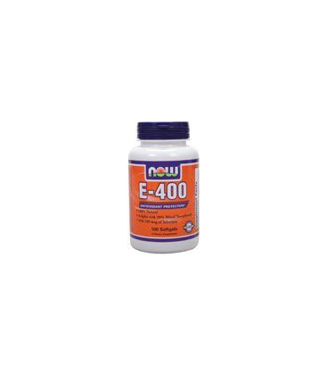 Now Foods E-400, Soft-gels, 100-Count