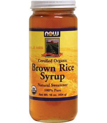 Now Foods Organic Brown Rice Syrup, 16-Ounce