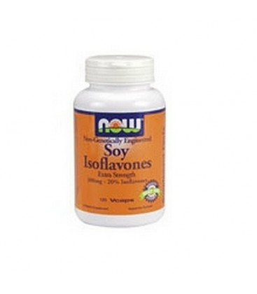 NOW Foods Soy Isoflavones,  60mg , 120 Capsules