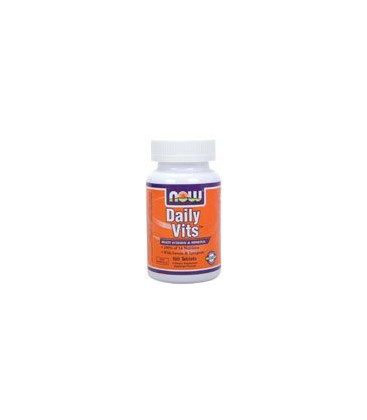 Now Foods Daily Vitamins Multi Tablets, 100-Count
