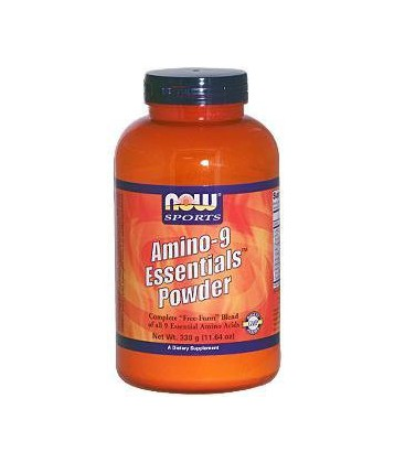 Now Foods Amino-9 Essentials Powder, 330-Grams