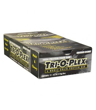 Tri-O-Plex High Protein Food Bar, Chocolate Coconut, 4.2 Oun