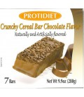 Protidiet Crunchy Cereal Chocolate Flavor Protein Bars (box