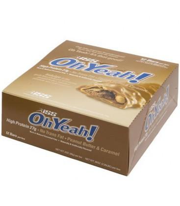 ISS OhYeah! Bar Almond Fudge Brownie, 12-Count Box