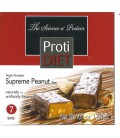 Protidiet Supreme Peanut High Protein Bars (1 Box of 7 Bars)