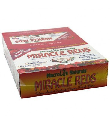 Miracle Reds Berri Berri - Box - 12 Bars - 1 Box