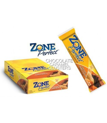 Zoneperfect Caramel Clusters with 16 Grams of Proteins (12 C