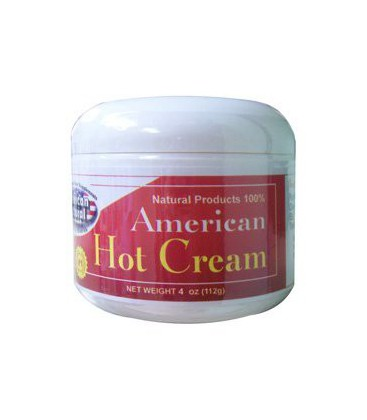 American Natural American Hot Cream 4 oz Excessive Body Fat