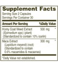 Nature's Bounty Horny Goat Weed with Maca, 60 Capsules (Pack