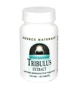 Source Naturals Tribulus Extract, 750mg, 60 Tablets (Pack of