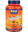 NOW Foods Tribulus 1000mg, 45% Extract, 180 Tablets