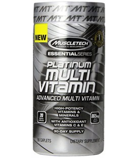MuscleTech Platinum Multi-Vitamin Supplement, 90 Count