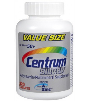 Centrum Silver, 220-Count Bottle
