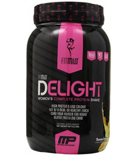Fitmiss Delight Nutritional Shake, Banana Cream, 2 Pound