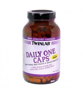 Twinlab Daily One Caps Multi-Vitamin and Multi-Minerals with