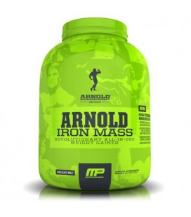Muscle Pharm Arnold Schwarzenegger Series Iron Mass Weight Gainer, Chocolate Malt, 5 Pound