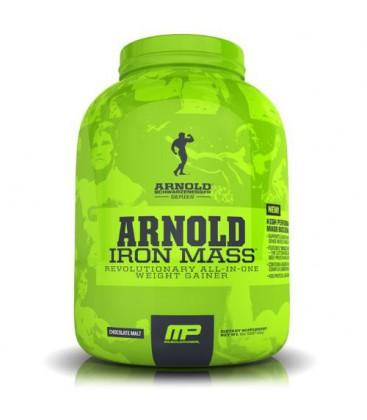 Muscle Pharm Arnold Schwarzenegger Series Iron Mass Weight Gainer, Chocolate Malt, 5 Pound