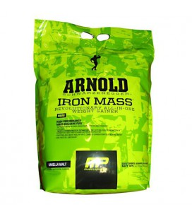 Arnold By Musclepharm Iron Mass Vanilla Malt 10 LBS