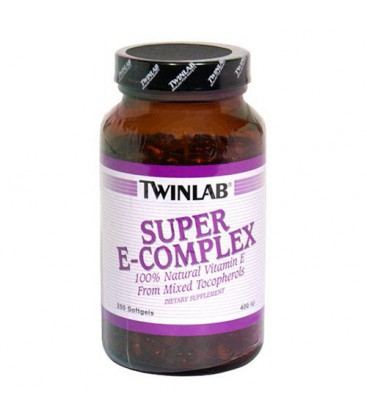Twinlab Super E-Complex 400 IU, 250 Softgels